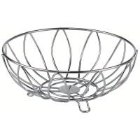 Wire Fruit Basket - Leaf in Bread and Fruit Baskets