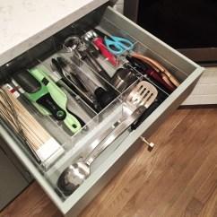 Kitchen Utensil Drawer Organizer Pendant Lighting Island Image Gallery Custom Acrylic Organizers