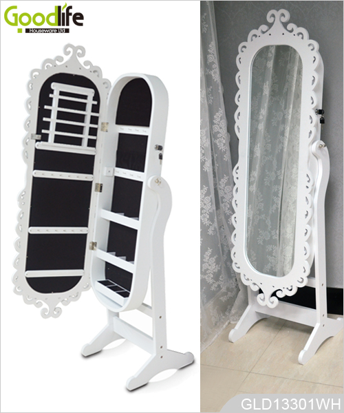 mirrored jewelry cabinet wholesale low