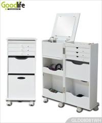 Hot Sale Goodlife Multiple Function Wheeled Wooden Storage ...