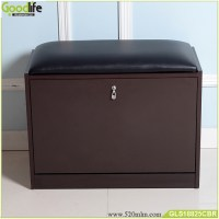 Wooden Shoe storage cabinet ottoman from China Guangdong ...