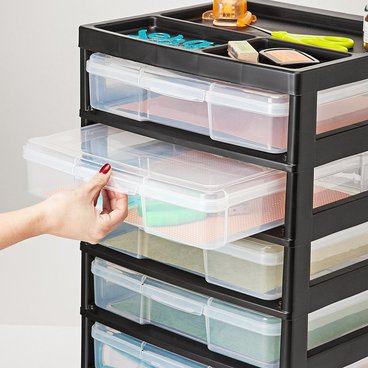 kitchen utensil caddy cabinet paint colors scrapbook paper storage - organize your life