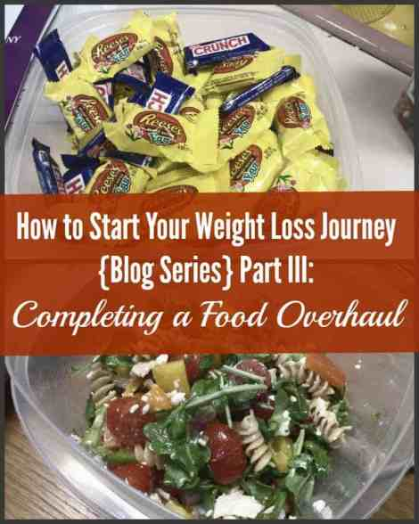 How to Start Your Weight Loss Journey {Blog Series} Part III Completing a Food Overhaul