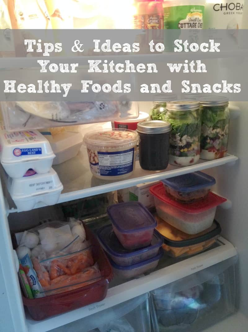 Stocking Your Pantry With Healthy Foods