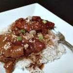 Slow Cooker Sesame Ginger Chicken