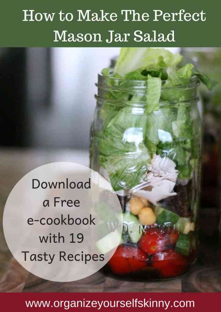 mason jar salad how to make the perfect salad in a jar recipe organize yourself skinny