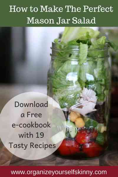 Mason Jar Salad: How To Make the Perfect Salad in a Jar Recipe!