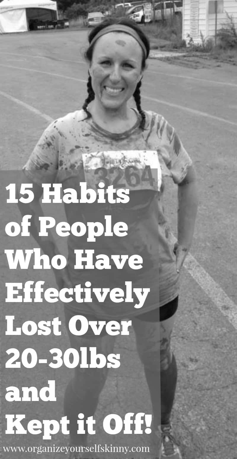 15 healthy habits of people who have lost weight 15 habits of people who have lost 20 30lbs and kept it off weight loss ccuart Gallery