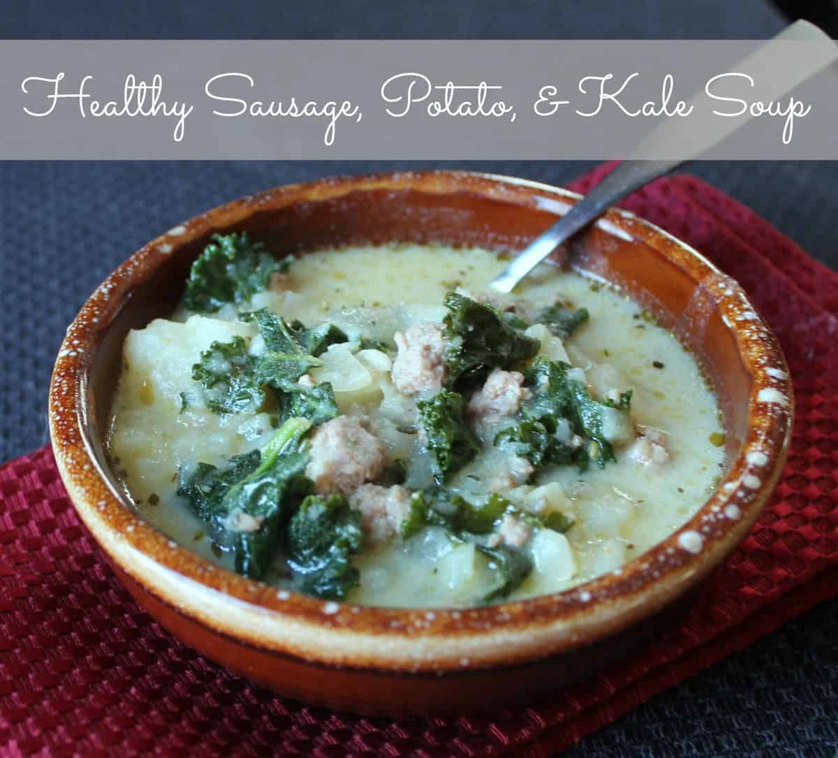 Copycat zuppa toscana for Olive garden potato sausage kale soup recipe
