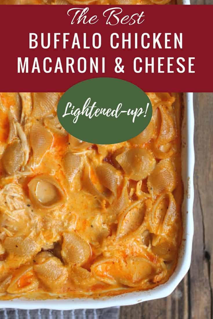 The Best Buffalo Chicken Recipe Buffalo Macaroni & Cheese