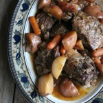 Slow Cooker Rustic Beef Short Ribs and Vegetables