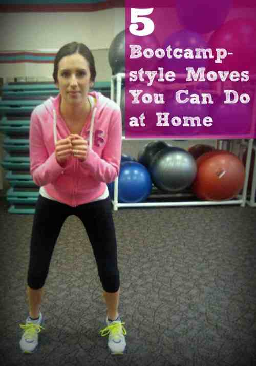 5 Bootcamp-style moves you can do at home
