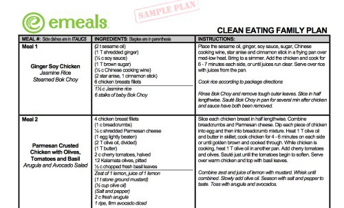 What is the Difference Between Plan to Eat and eMeals
