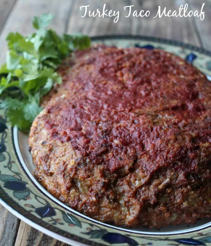 Turkey Taco Meatloaf Recipe