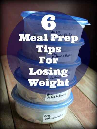 6 Meal Prep Tips for Losing Weight