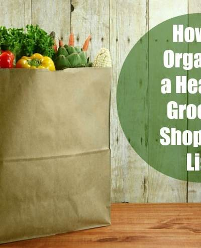 How to Organize a Healthy Grocery Shopping List