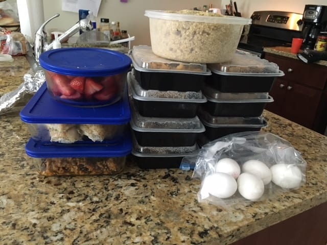 Make ahead meal plan
