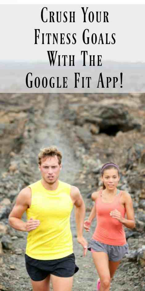 Crush your fitness goals with the google fit app!