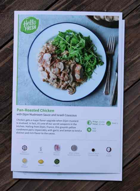 My completely honest and unapologetic review of hello fresh the recipe card hellofresh17 forumfinder Images