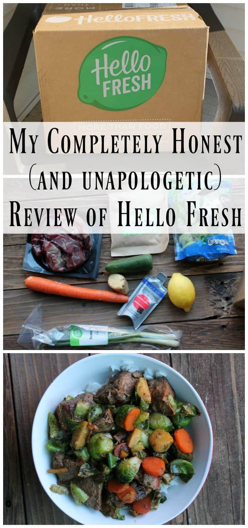 My Completely Honest (and unapologetic) Review of Hello Fresh