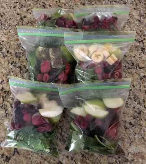 detox smoothie freezer kit