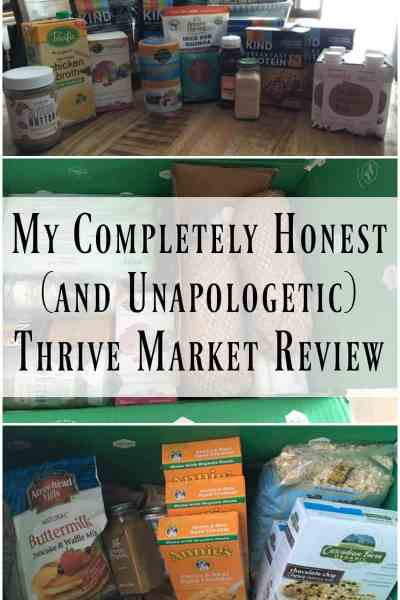 My Completely Honest (and Unapologetic) Thrive Market Review