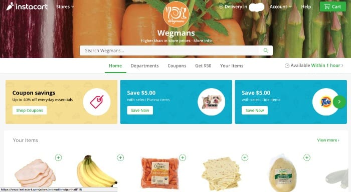 My Completely Honest (and Unapologetic) Instacart Review - Organize