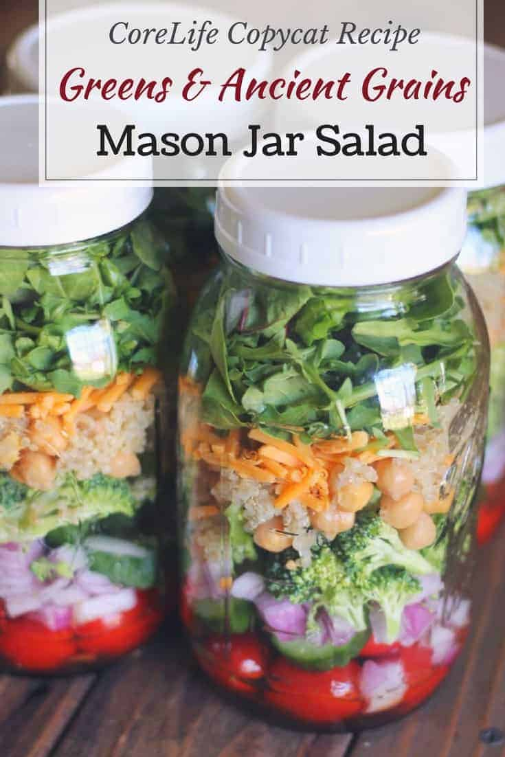 Organize yourself skinny recipes on feedspot rss feed this mason jar salad recipe is inspired by the delicious greens ancient grain salad found at corelife eatery its filled with vegetables quinoa forumfinder Choice Image