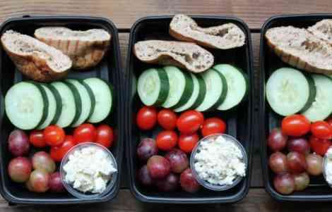 Easy Meal Prep Ideas: Greek Snack Box