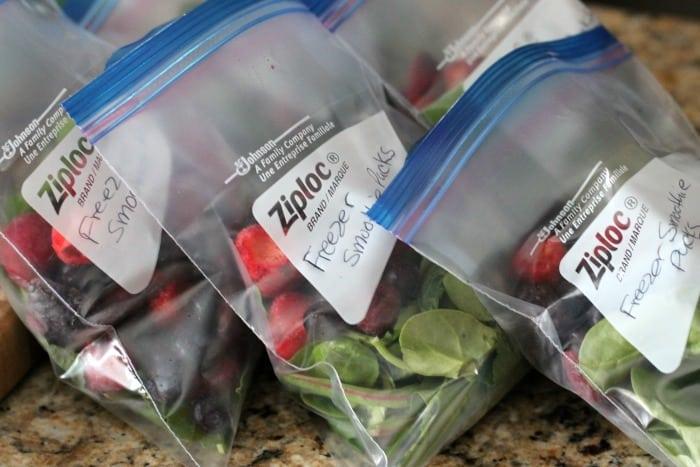 frozen smoothie packs