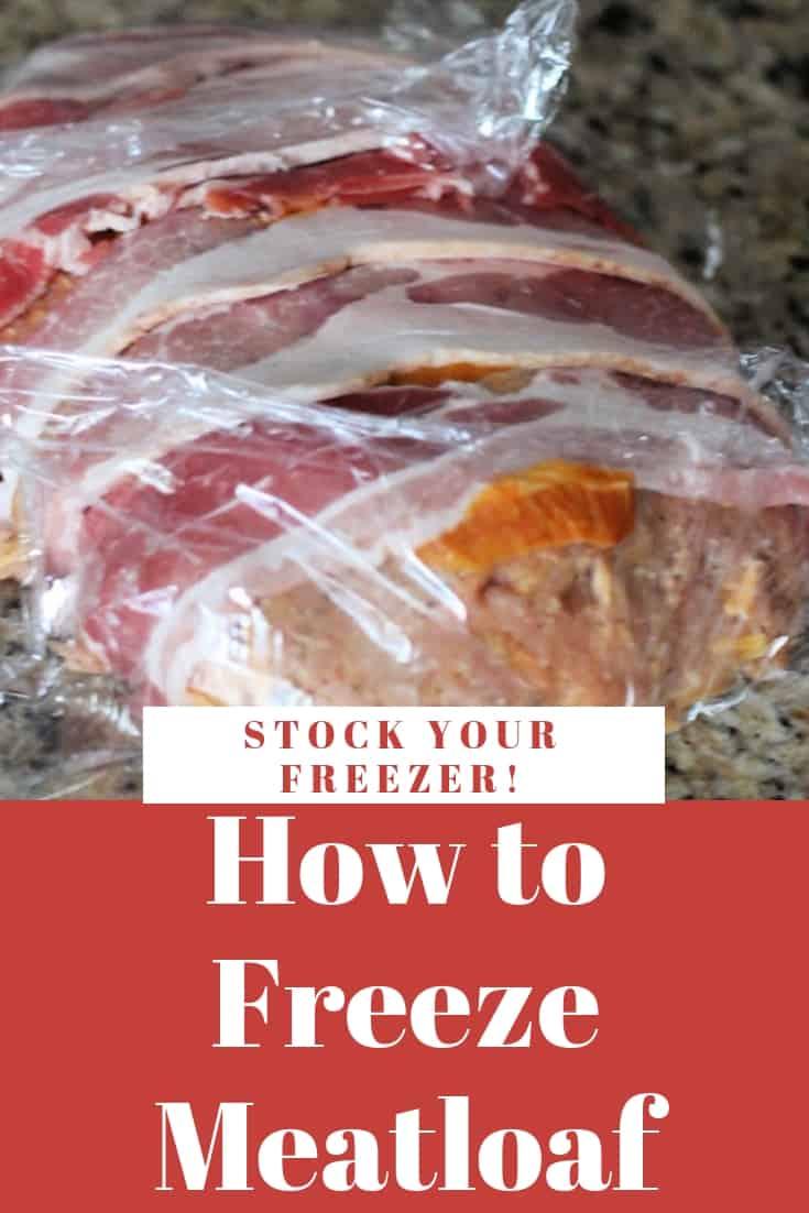 freeze meatloaf