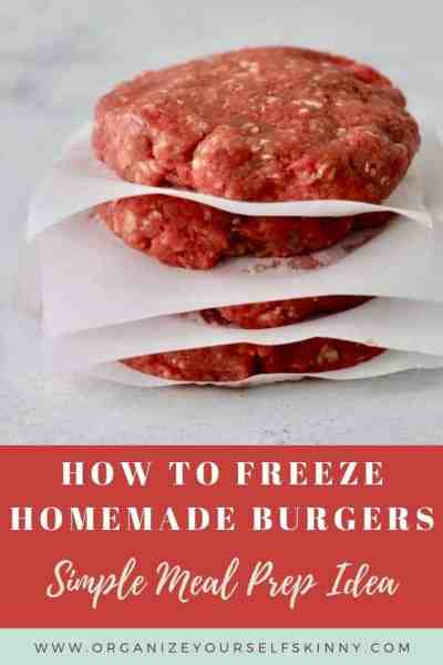 How to Make Hamburger Patties to Freeze