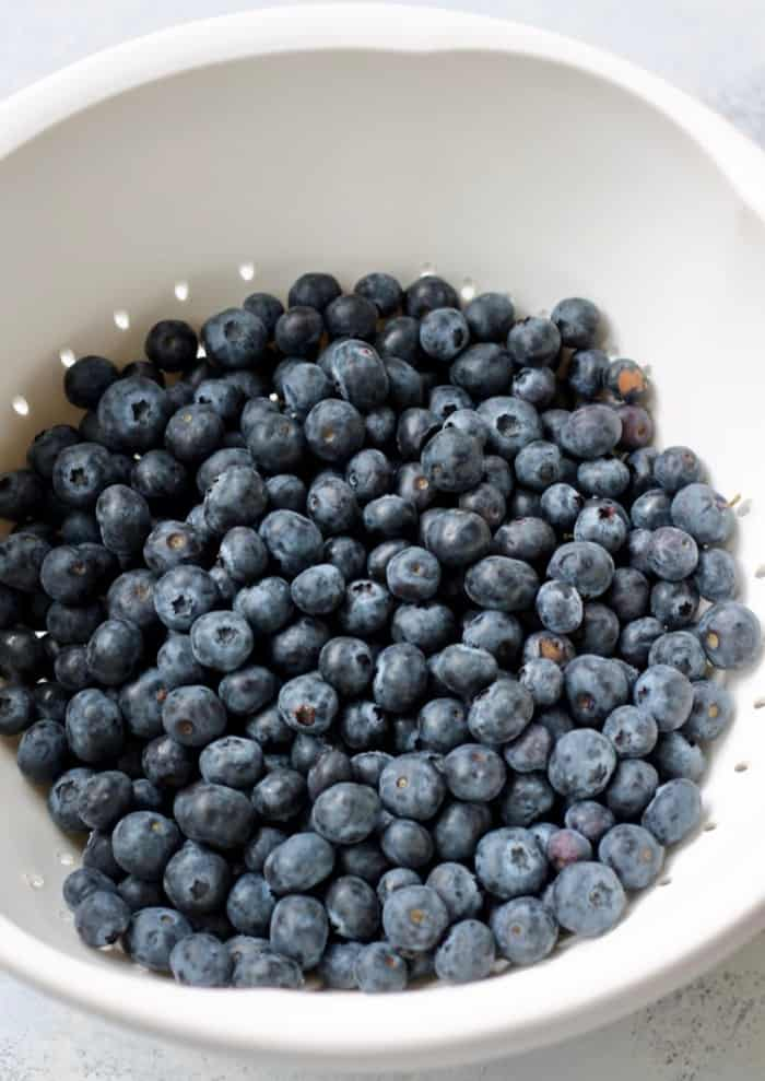how to freeze blueberrie