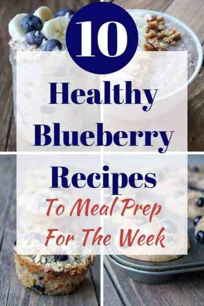 Healthy Blueberry Recipes