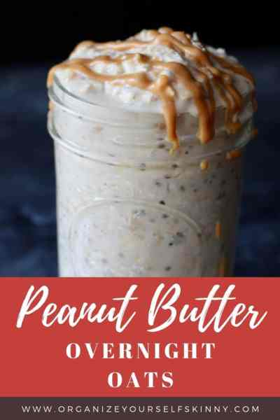 Peanut Butter Overnight Oats