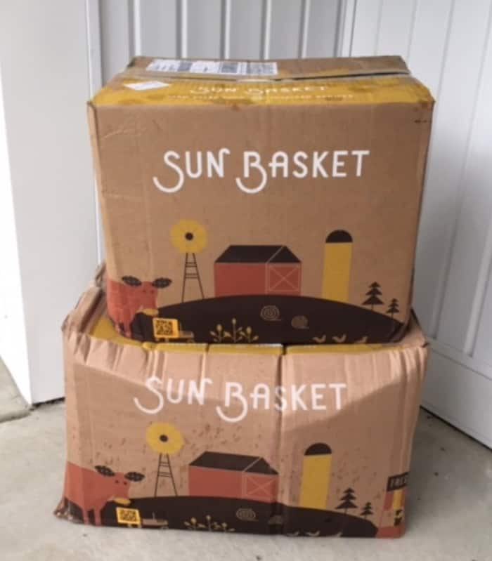 sun basket delivery
