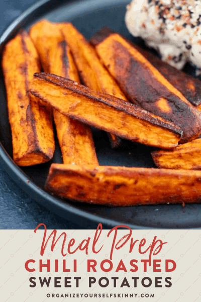 Whole30 Chili-Spiced Roasted Sweet Potatoes