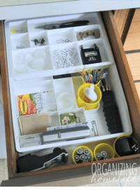 How to Organize a Junk Drawer ~ Organize Your Kitchen ...