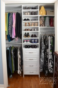 Master Bedroom Closet Organization ~ The Reveal & Surprise ...