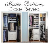 Master Bedroom Closet Organization ~ The Reveal & Surprise ...