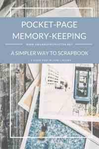 Pocket-Page Memory-Keeping