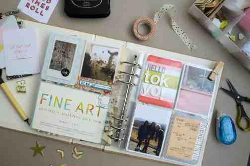 Travel Pocket-Page Memory-keeping 01