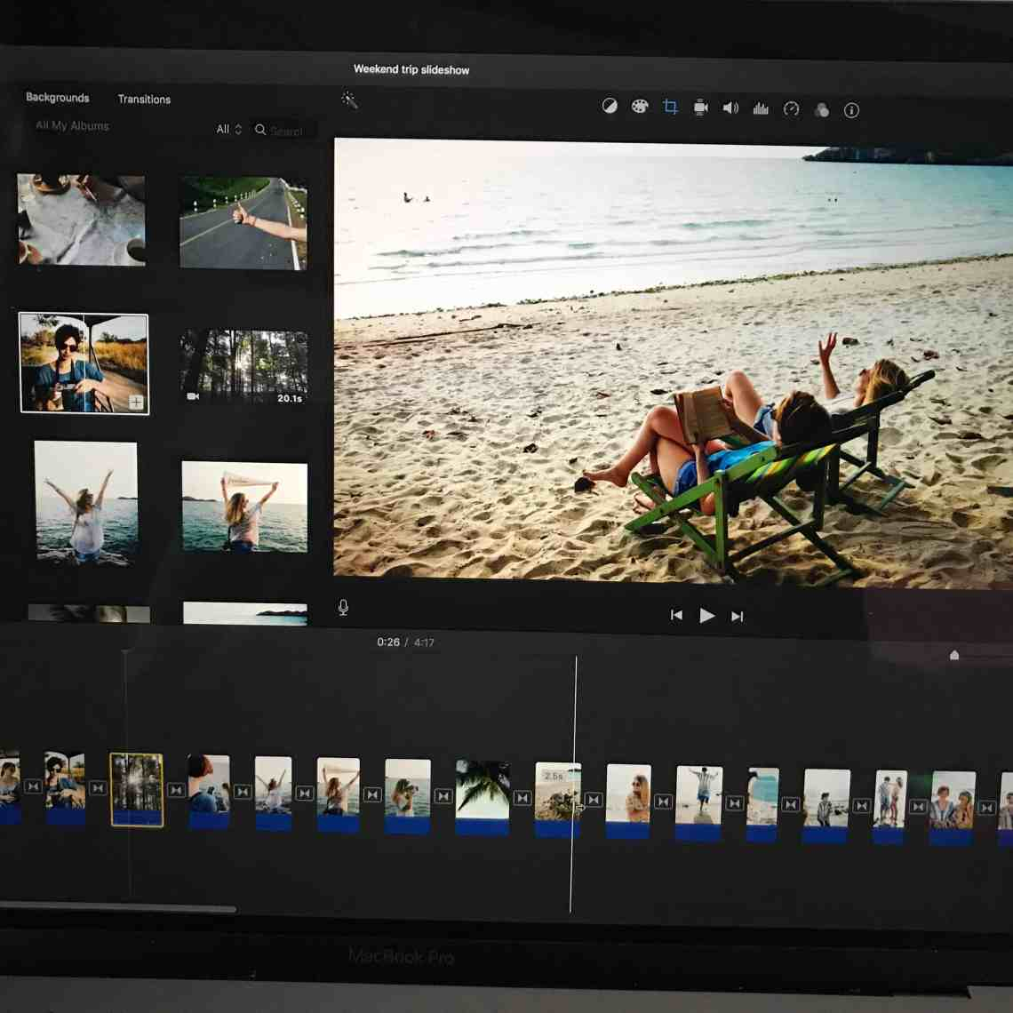 How to create a photo video slideshow with imovie for mac maxwellsz