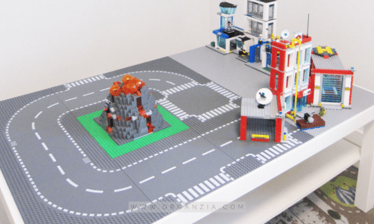 Lego city table ideas