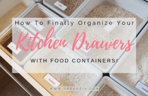 How To Get An Organized Kitchen Drawer