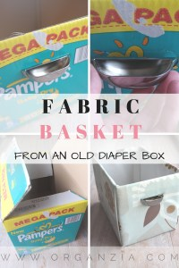 DIY Fabric basket from an old diaper box-2
