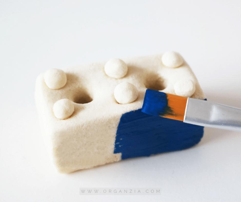 Lego Pencil Holder - Paint