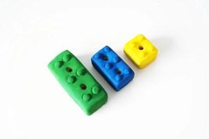 Lego pencil holders