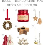 Budget Friendly Christmas Decor Items – All under $10!