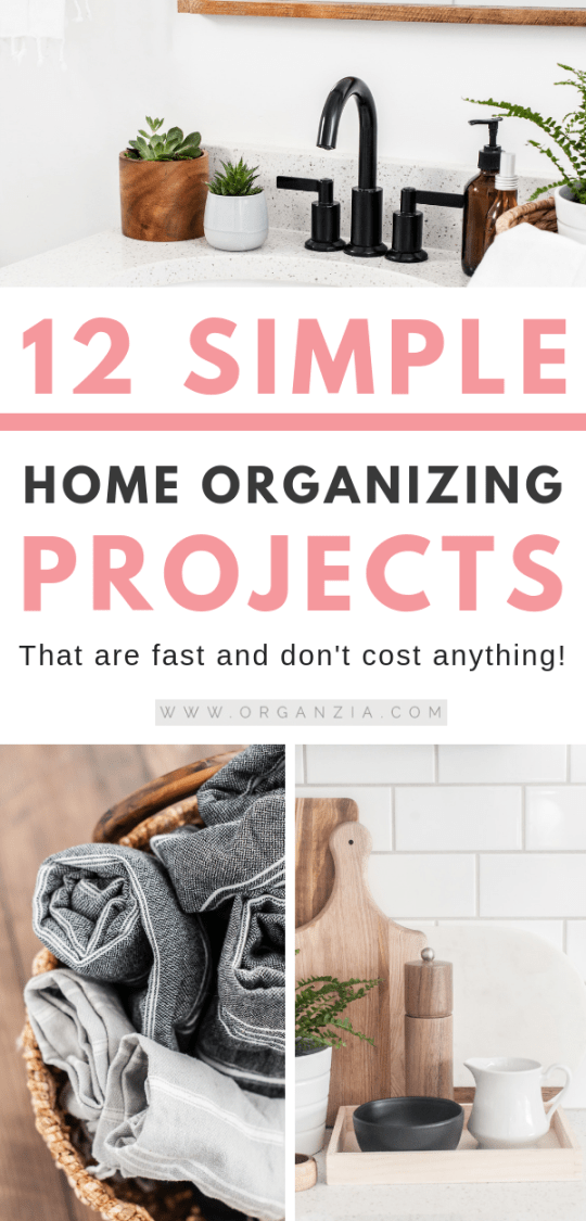 12 Simple Home Organizing Projects